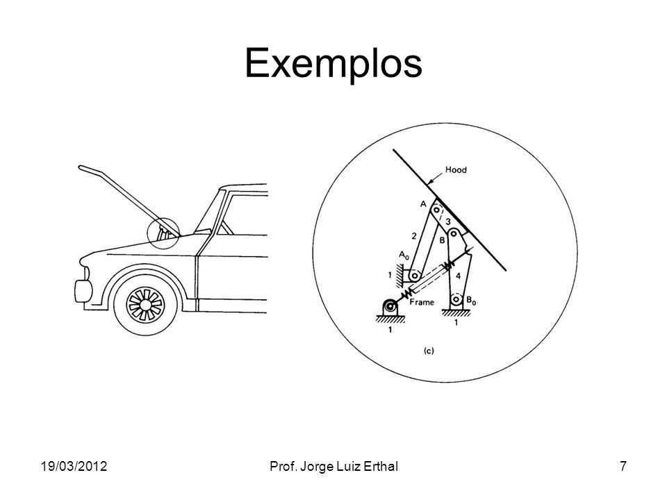 19/03/2012Prof. Jorge Luiz Erthal7 Exemplos