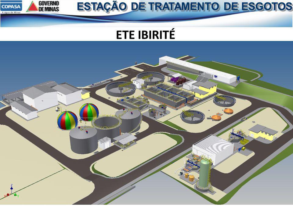 ESTAÇÃO DE TRATAMENTO DE ESGOTOS ETE IBIRITÉ