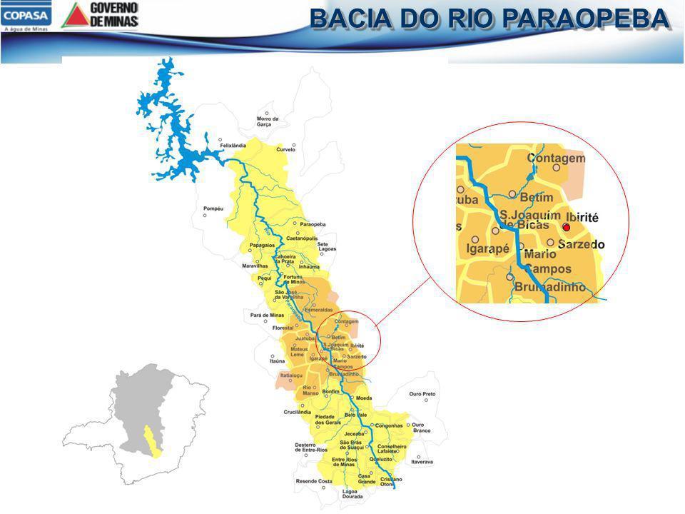 BACIA DO RIO PARAOPEBA