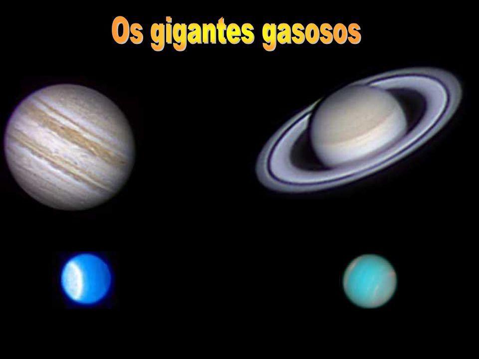 Os gigantes gasosos