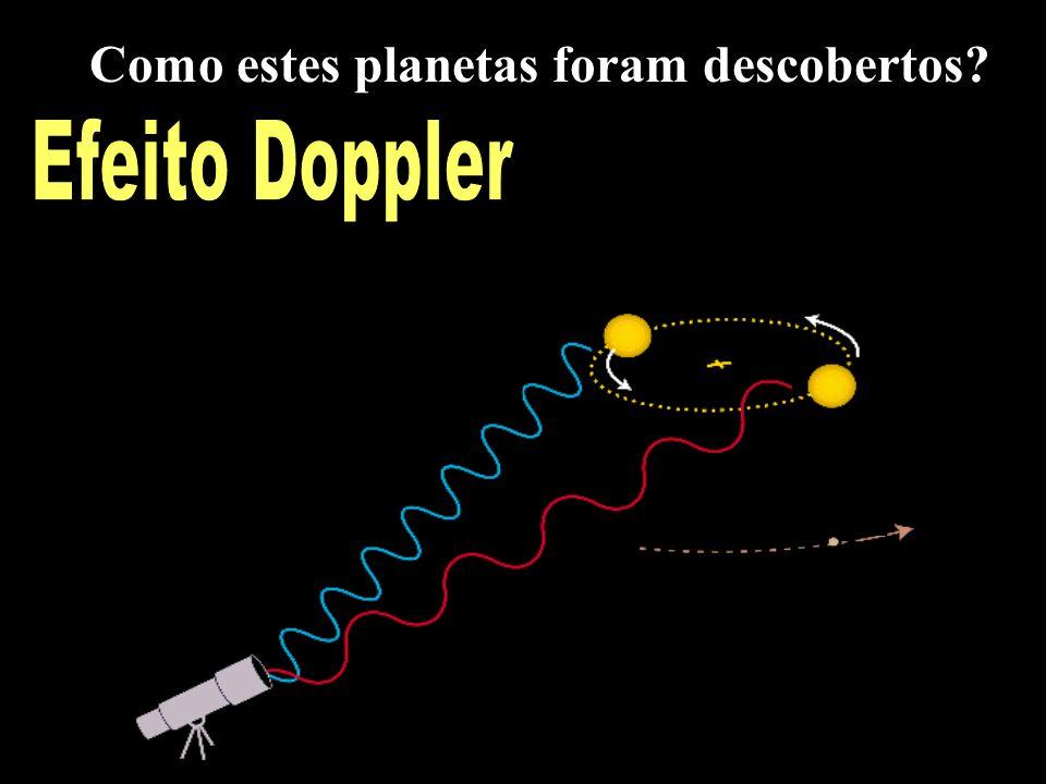 Efeito Doppler Como estes planetas foram descobertos?