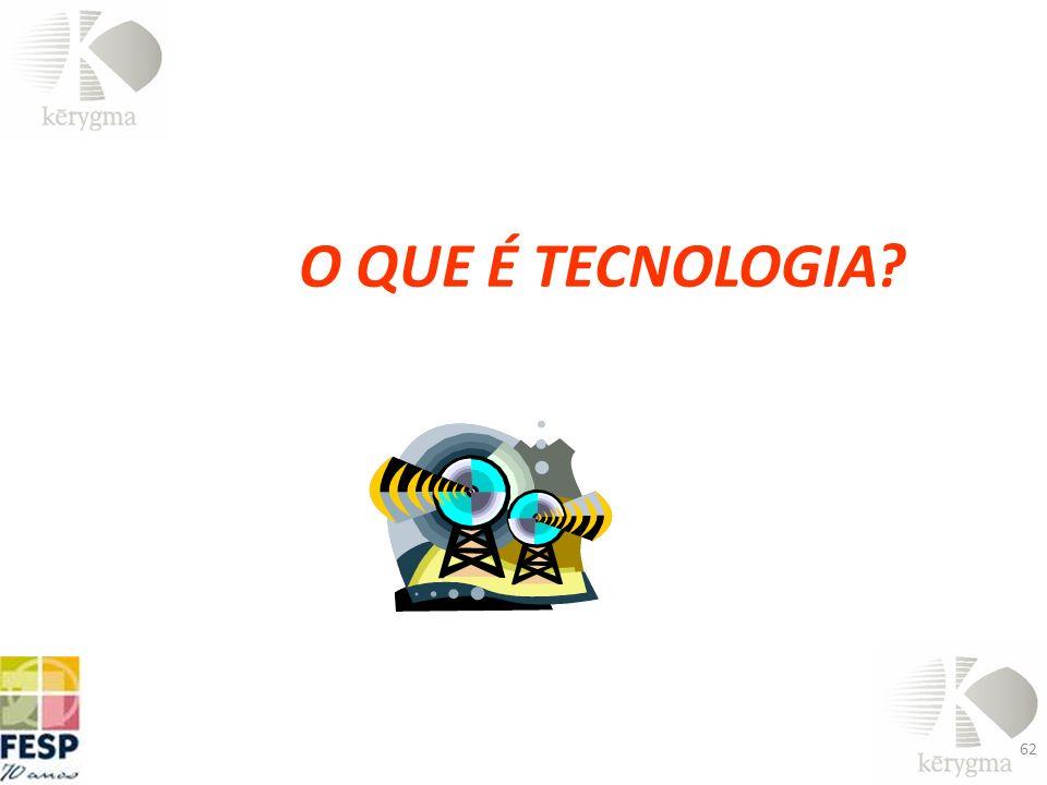 O QUE É TECNOLOGIA? 62