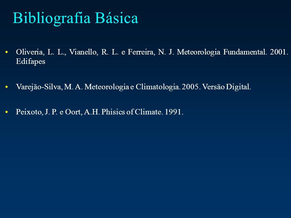 Bibliografia Básica Oliveria, L. L., Vianello, R.
