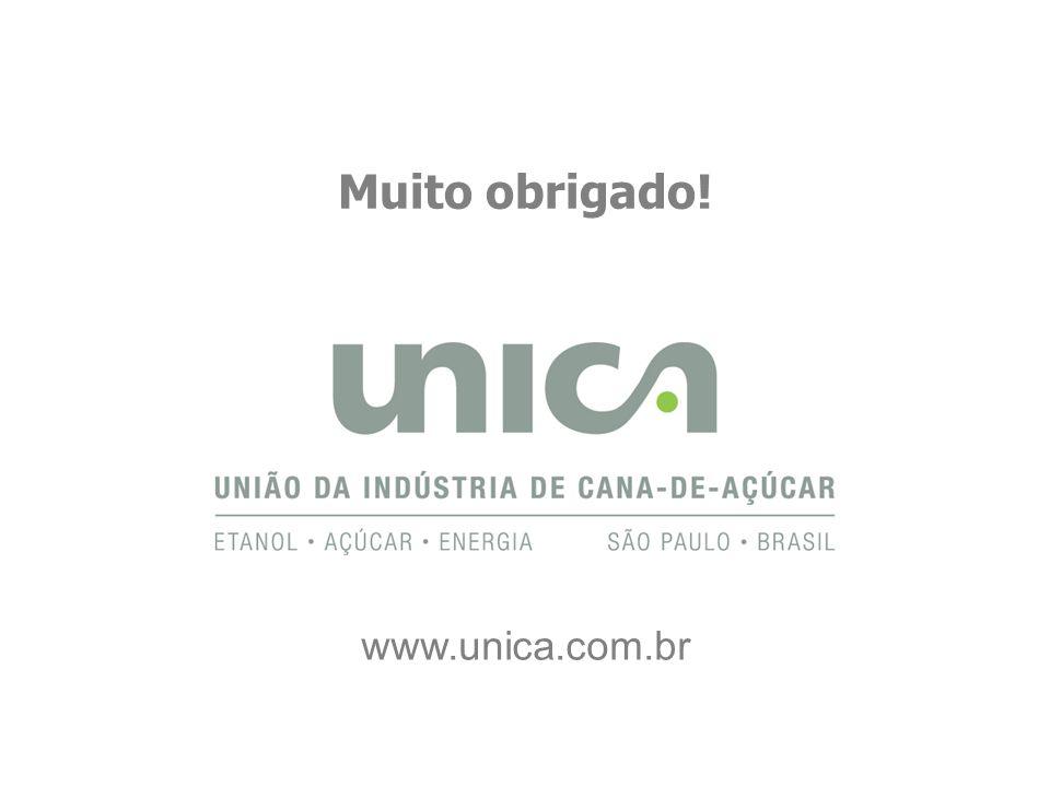 V – Meio Ambiente Muito obrigado! www.unica.com.br