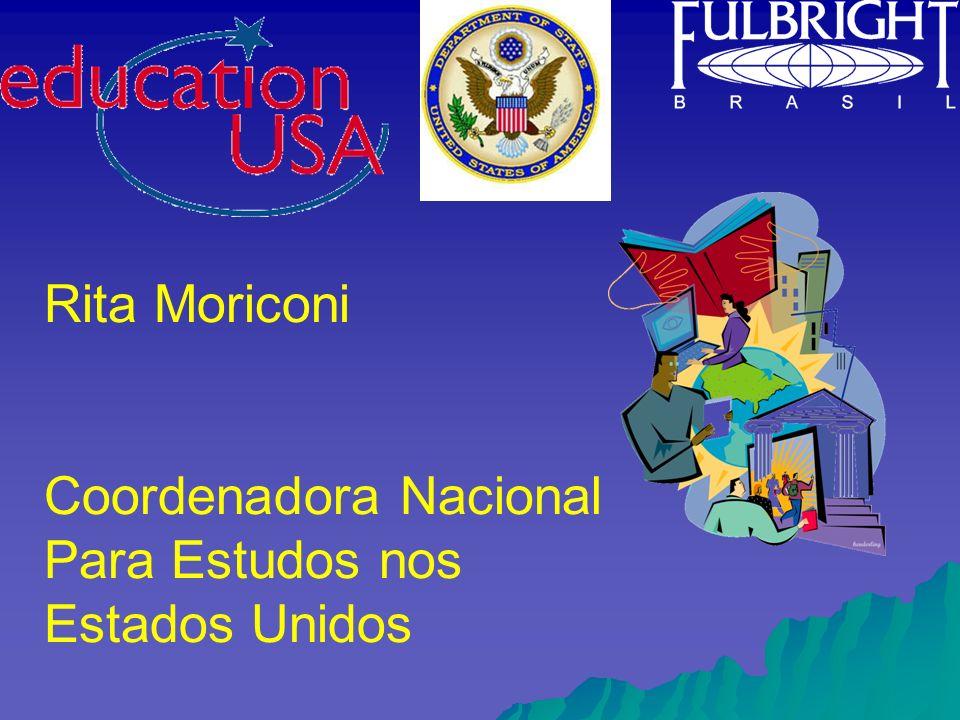 Rita Moriconi Coordenadora Nacional Para Estudos nos Estados Unidos