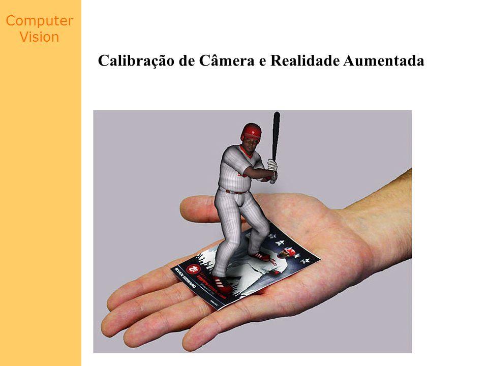 Computer Vision Calibração de Câmera e Realidade Aumentada