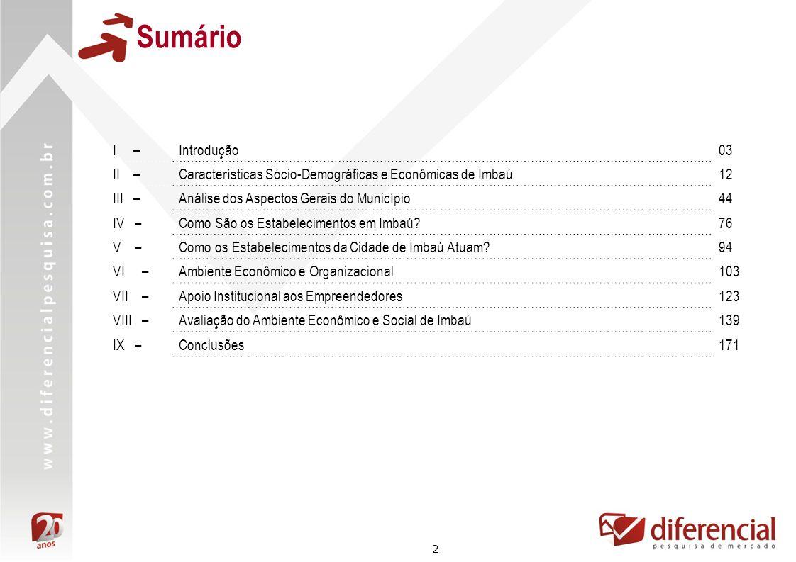 33 Dados Econômicos Fonte: RAIS – MTE Crescimento do Número de Empresas Formais com Pelo Menos 1 Funcionário – 2005 a 2008 15% Crescimento do Número de Empresas Formais de 2005 a 2008 Imbaú: 26% Microrregião de Telêmaco Borba: 13% Estado do Paraná: 13% A cidade de Imbaú teve um crescimento de 26% quanto ao número de empresas com pelo menos 1 funcionário entre 2005 e 2008.
