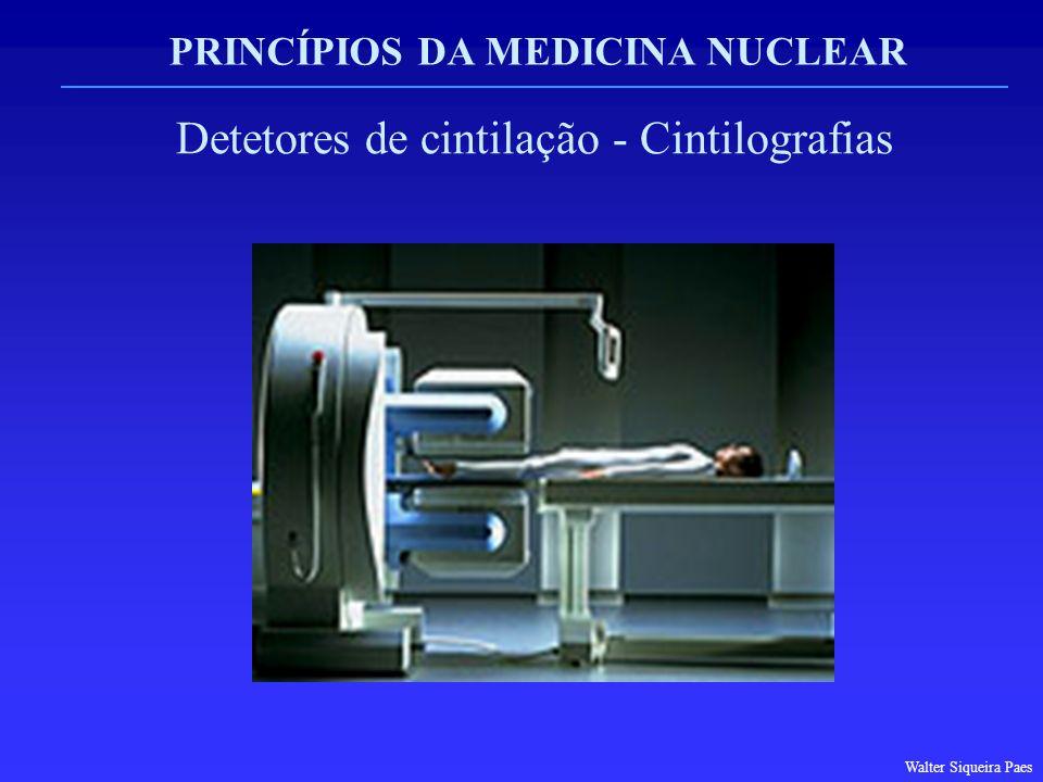 PRINCÍPIOS DA MEDICINA NUCLEAR Detetores de cintilação - Cintilografias Walter Siqueira Paes