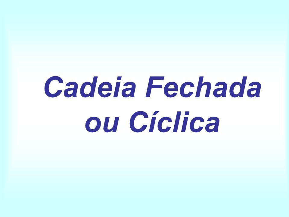 Cadeia Fechada ou Cíclica