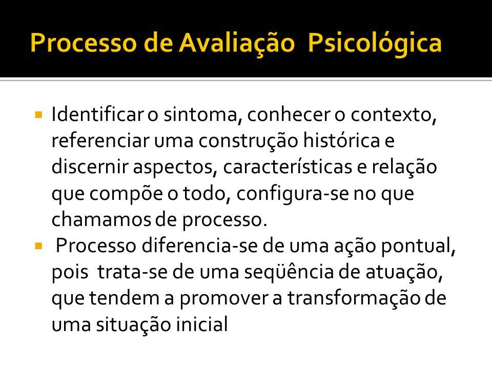 Avaliação Psicológica, antes de tudo,é uma área científica com atuação profissional.