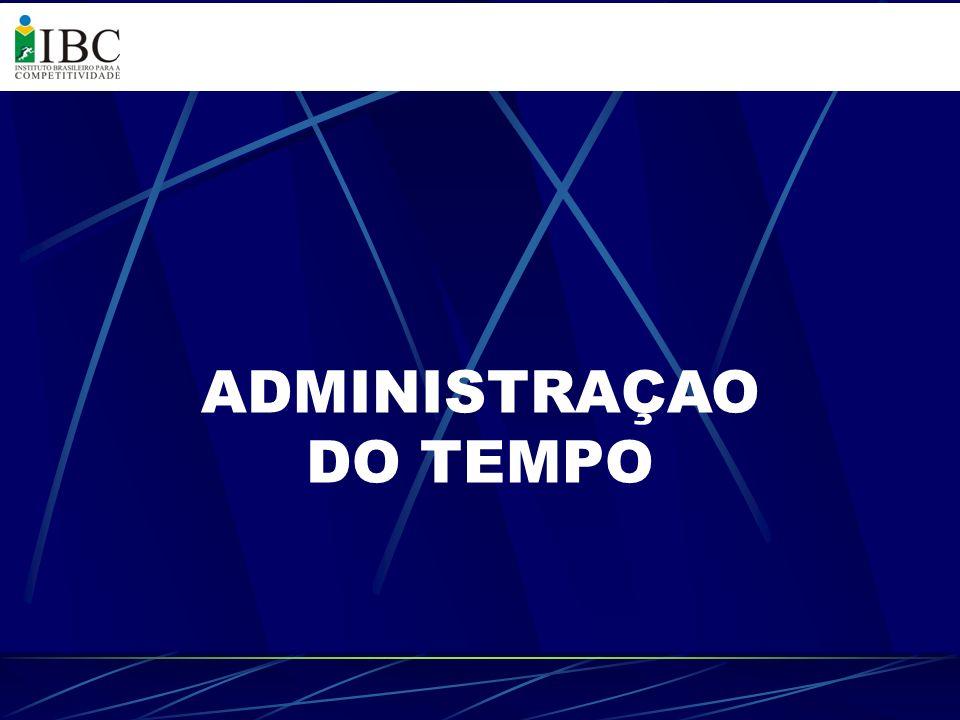 ADMINISTRAÇAO DO TEMPO