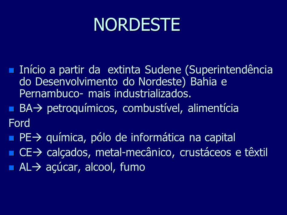 NORTE n Início a partir da Suframa (Superintendência da Zona Franca de Manaus) em 1967 n A Refinaria Isaac Sabbá ou Refinaria de Manaus (REMAN) n SIDE