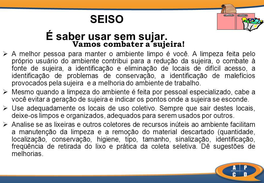 Itens de Avaliação (SEISO) 3.1.