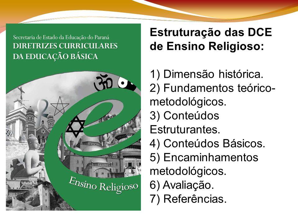 Estruturação das DCE de Ensino Religioso: 1) Dimensão histórica.