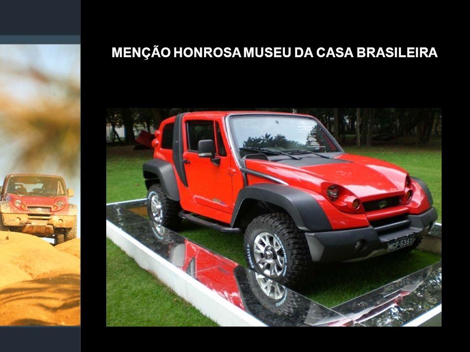 MENÇÃO HONROSA MUSEU DA CASA BRASILEIRA