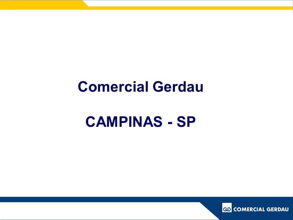 Comercial Gerdau CAMPINAS - SP