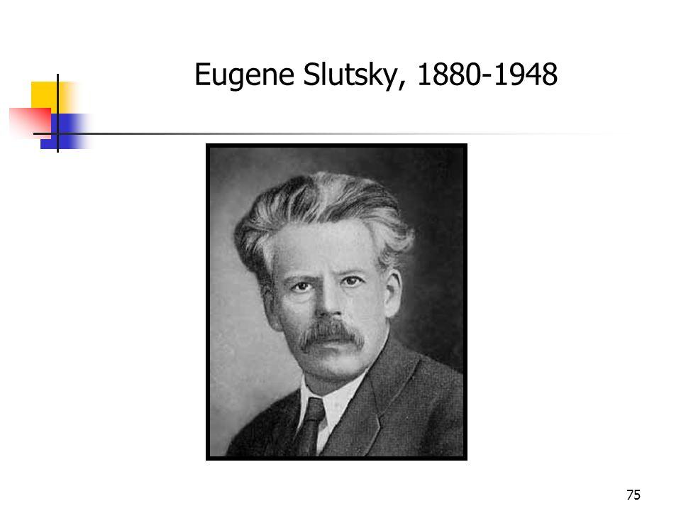 75 Eugene Slutsky, 1880-1948