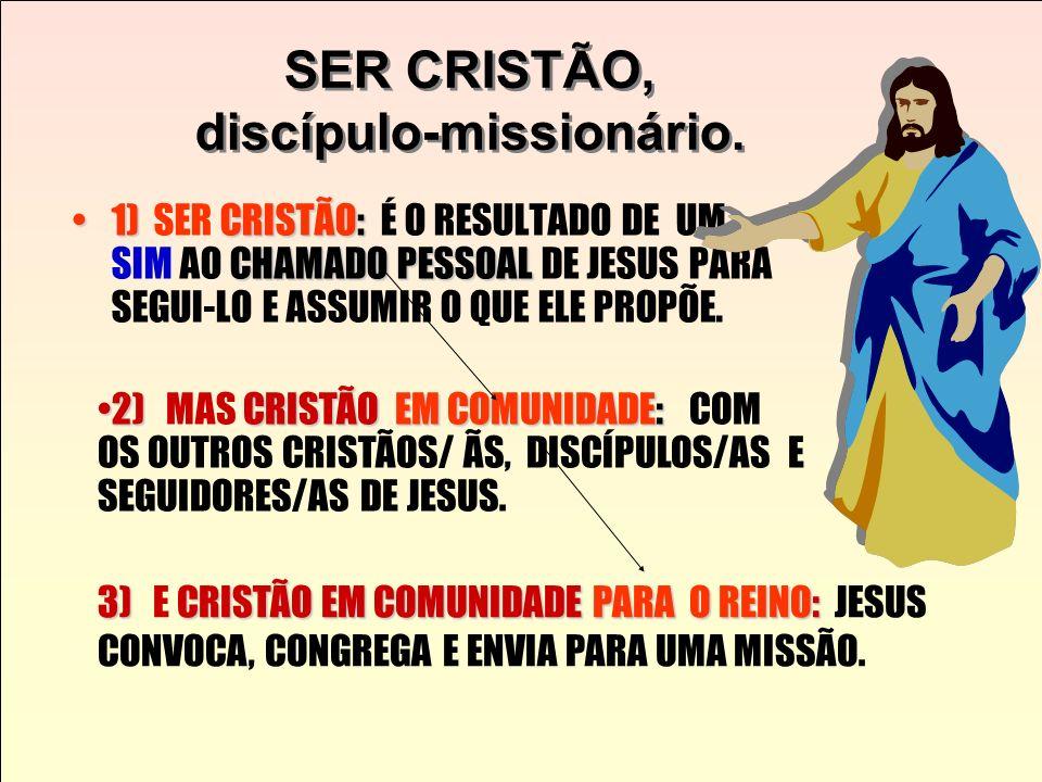 1. A IDENTIDADE DO DISCÍPULO MISSIONÁRIO SEGUNDO SÃO MARCOS (Cf. Formação Iniciática de Catequistas, capítulo 2, item 2.4) Jesus chamou aqueles que El