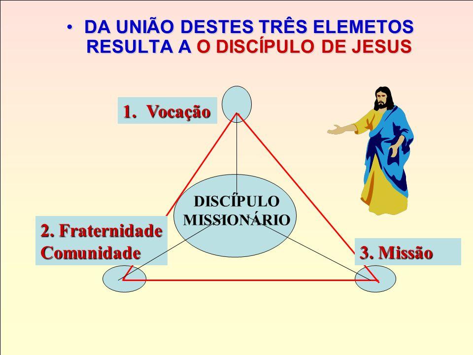 SER CRISTÃO, DISCÍPULO MISSIONÁRIO DE JESUS, segundo São MARCOS (Mc 3, 13-15) 2. Comunidade eclesial 3. Missão 1. Vocação-chamado de Jesus Não sou eu