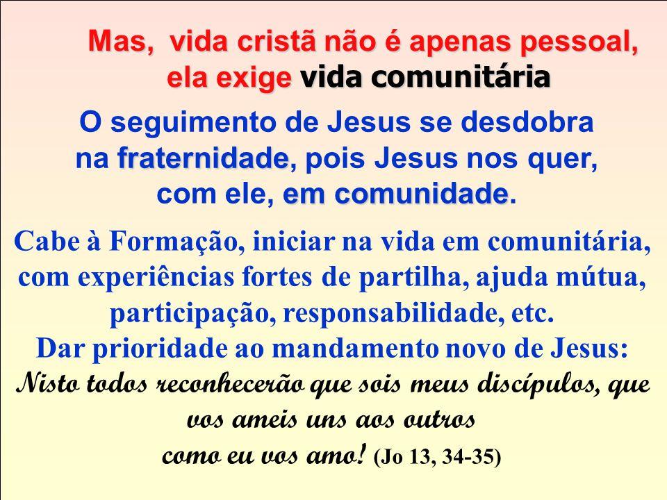O mais importante, portanto, O mais importante, portanto, é a adesão pessoal a Jesus. é a adesão pessoal a Jesus. É ser um CHRISTIFIDELIS (um discípul