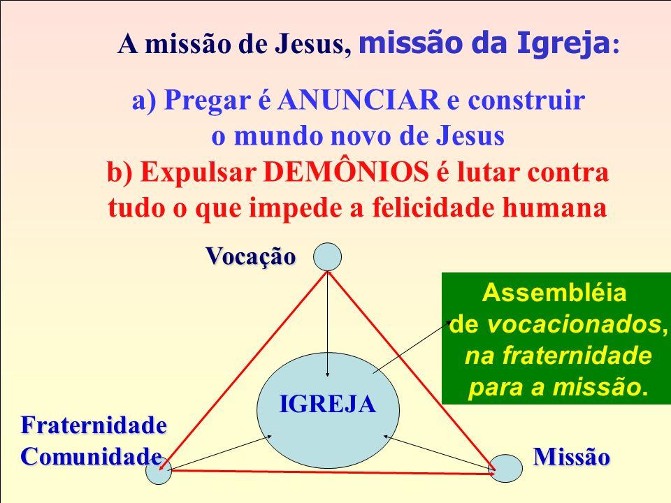 Missão O Cristão é para... Vocação 1. Ser cristão é SEGUIR JESUS. 1. Ser cristão é SEGUIR JESUS. 2. O cristão é FRATERNO E VIVE EM COMUNIDADE Fraterni