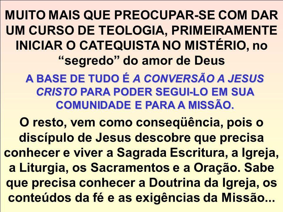 1. Ser cristão é SEGUIR JESUS. 1. Ser cristão é SEGUIR JESUS. 2. O cristão é fraterno e vive em comunidade O que nos interessa como cristãos: a) que D