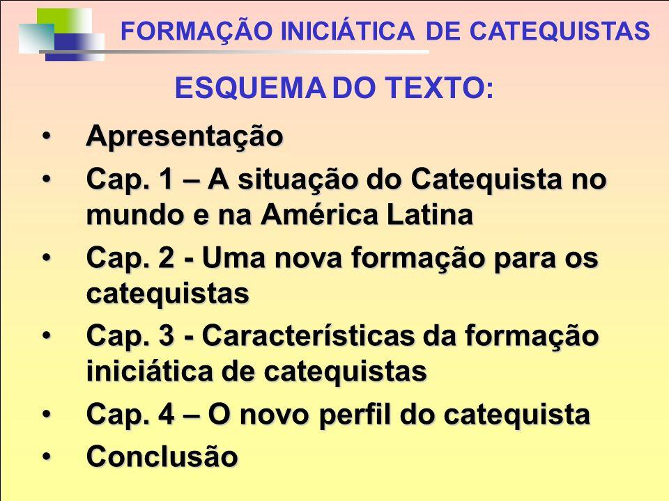 O Texto final, em sua versão resumida, está na Revista de Catequese, ano 31 nº 123, julho- setembro, de 2008, pp., e na página de SCALA (www.scala-cat