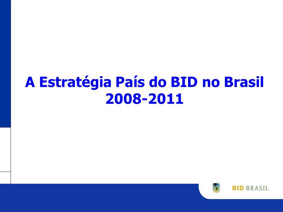 A Estratégia País do BID no Brasil 2008-2011