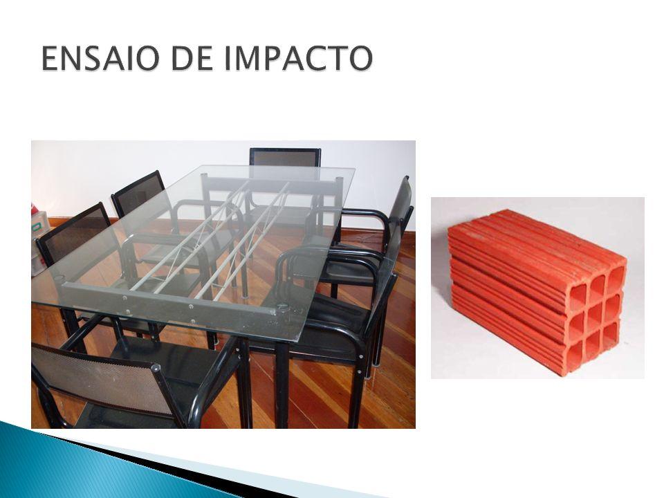 As fraturas produzidas por impacto podem ser frágeis ou dúcteis.