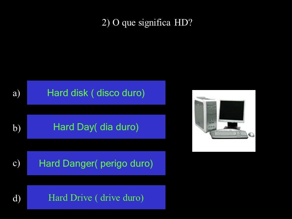 12) Qual desses periféricos, não é de entrada? a) b) c) d) Teclado Impressora Scanner Mouse
