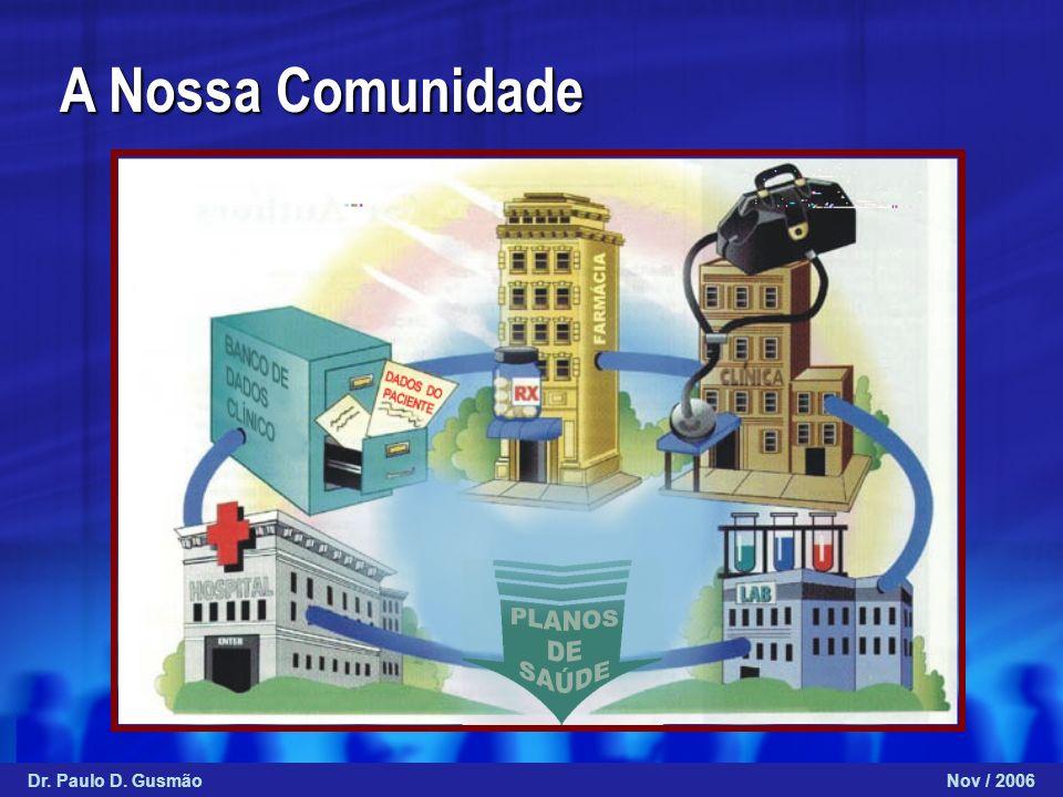 A Nossa Comunidade Dr. Paulo D. GusmãoNov / 2006