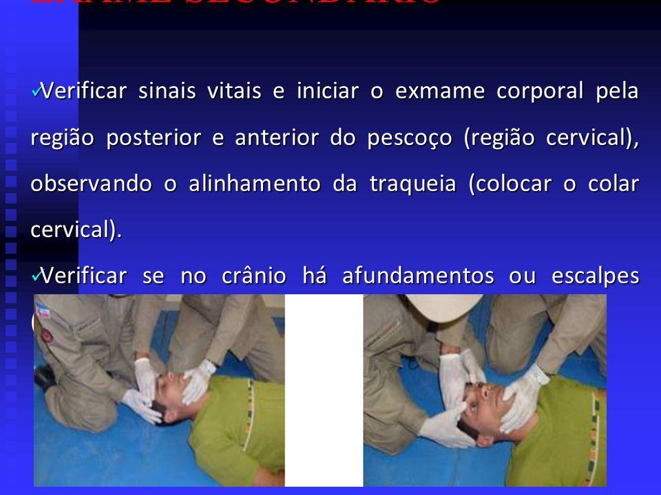 PRIMEIROS SOCORROS PROTOCOLOS: EXAME PRIMÁRIO Segurança do local.... Segurança do local. Controle Cervical e Responsividade.... Controle Cervical e Re