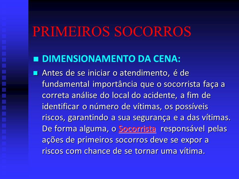 CONCEITO: CONCEITO: São os procedimentos de emergência que devem ser aplicados a uma pessoa em perigo de vida, visando manter seus sinais vitais e evi