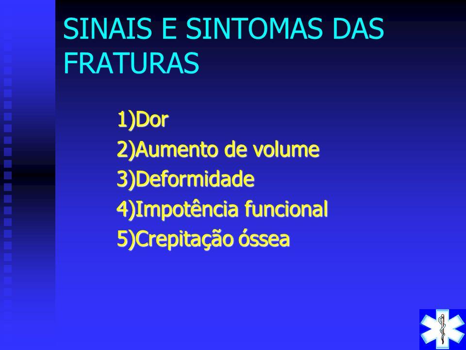 Lesões Contusas Fratura exposta Fratura exposta a nível do maléolo externo do tornozelo esquerdo. FRATURAS