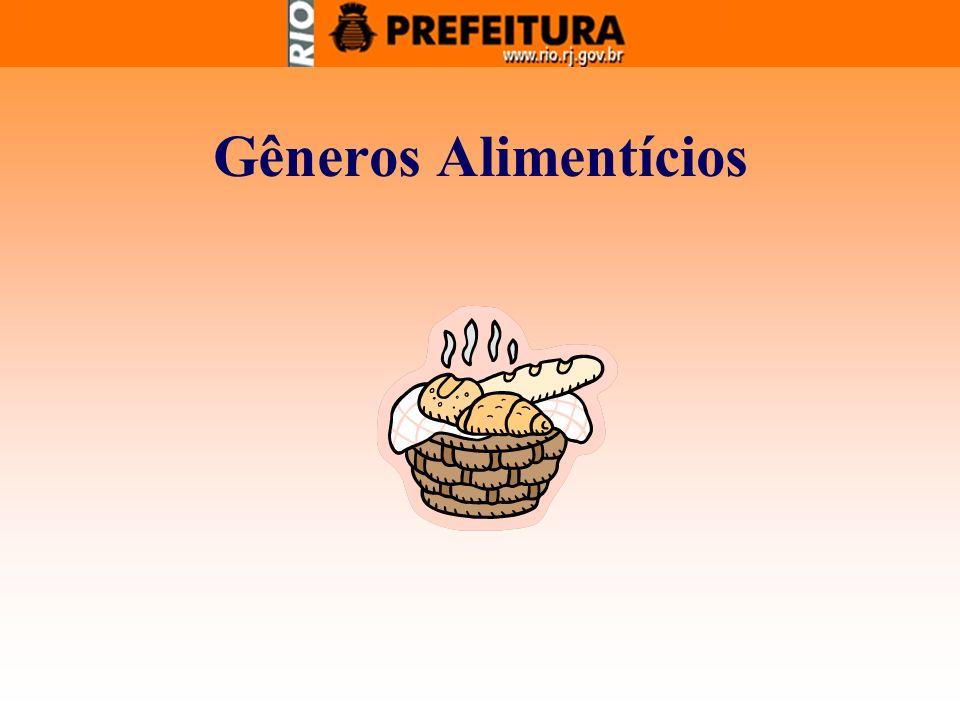 Gêneros Alimentícios