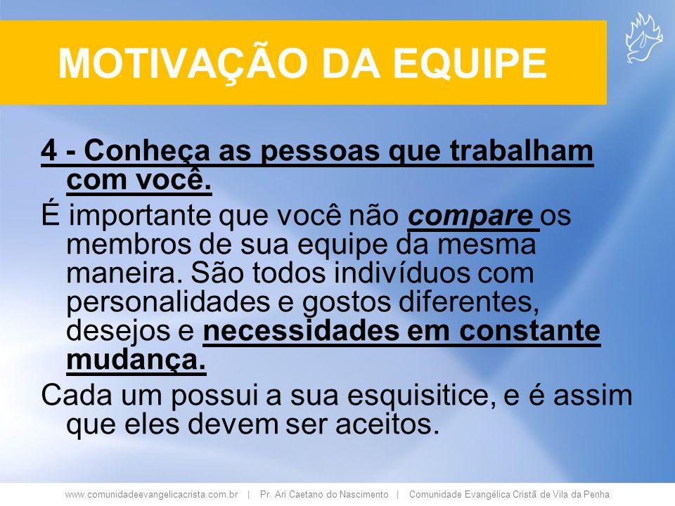 www.comunidadeevangelicacrista.com.br | Pr. Ari Caetano do Nascimento | Comunidade Evangélica Cristã de Vila da Penha 4 - Conheça as pessoas que traba