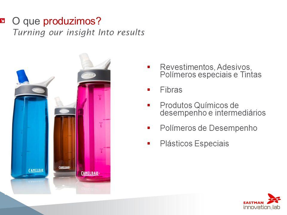 4 Revestimentos, Adesivos, Polímeros especiais e Tintas Fibras Produtos Químicos de desempenho e intermediários Polímeros de Desempenho Plásticos Espe