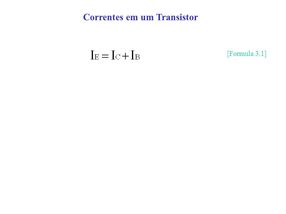Correntes em um Transistor [Formula 3.1]