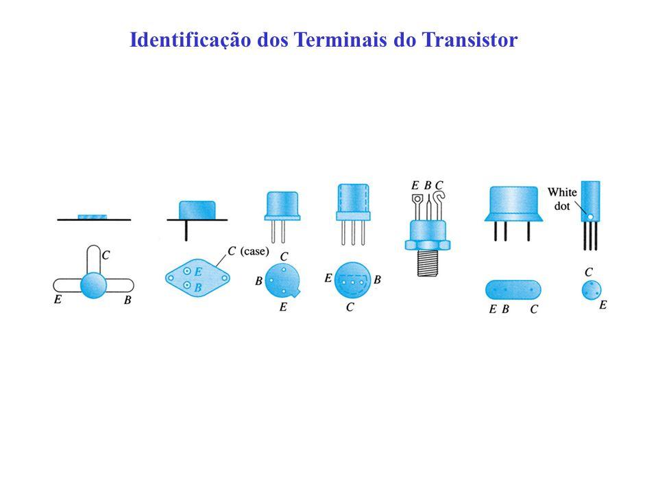 Identificação dos Terminais do Transistor