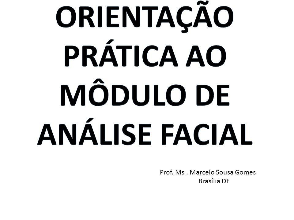 Prof. Ms. Marcelo Sousa Gomes Brasília DF