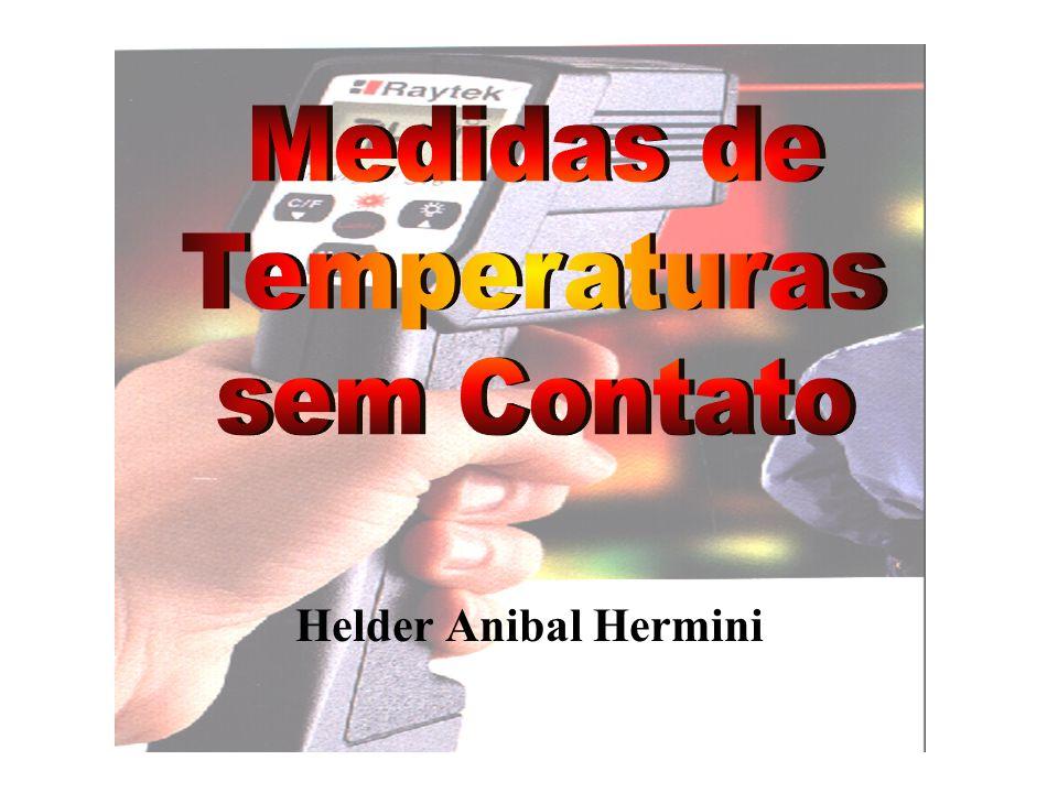 Método da Radiação I O sensor de temperatura deve ler a mesma temperatura do corpo que está sendo medido.