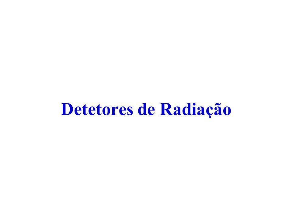 Detetores de Radiação