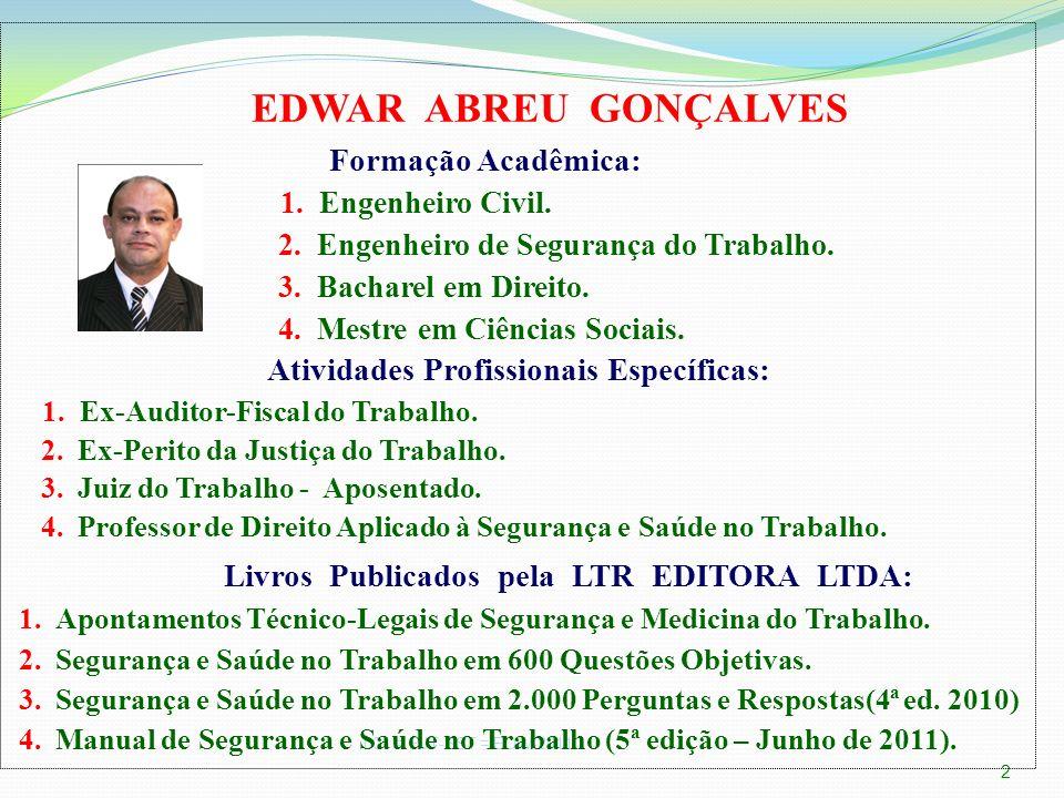 002 = NTEP-FAPxSST = EDW-20111 ESCOLA JUDICIAL - TRT 6ª Região Recife-PE, 07.06.2011 V MÓDULO CONCENTRADO DE APERFEIÇOAMENTO DE MAGISTRADOS ESCOLA JUD