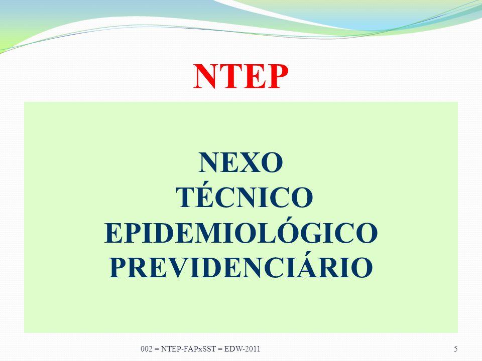 A TODOS, MUITO OBRIGADO... 002 = NTEP-FAPxSST = EDW-2011 35