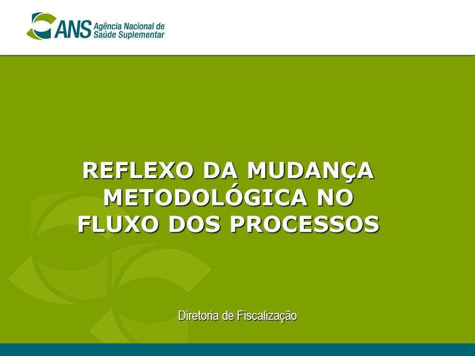 Diretoria de Fiscalização REFLEXO DA MUDANÇA METODOLÓGICA NO FLUXO DOS PROCESSOS