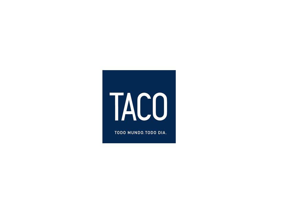 HISTÓRICO DA MARCA A Taco nasceu como um label jovem dentro das lojas da Tavares, que era uma marca de roupa social voltada para um público de faixa etária mais elevada.