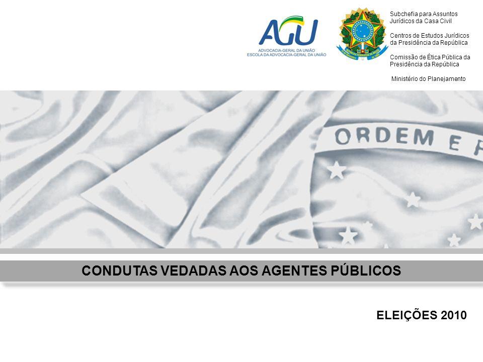 Subchefia para Assuntos Jurídicos da Casa Civil Centros de Estudos Jurídicos da Presidência da República Comissão de Ética Pública da Presidência da R