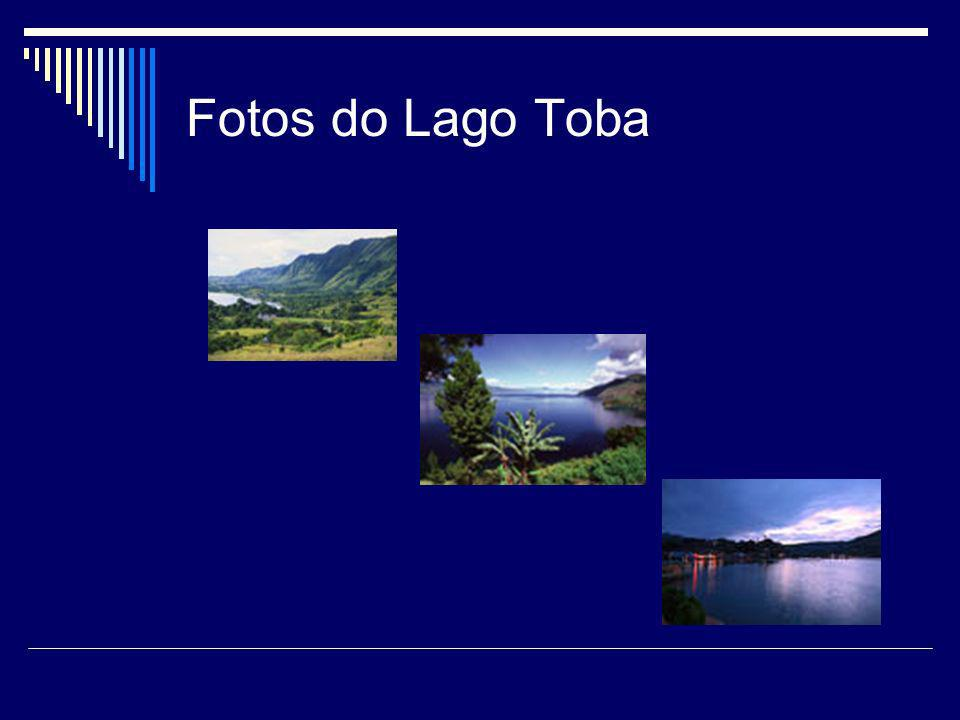 Fotos do Lago Toba