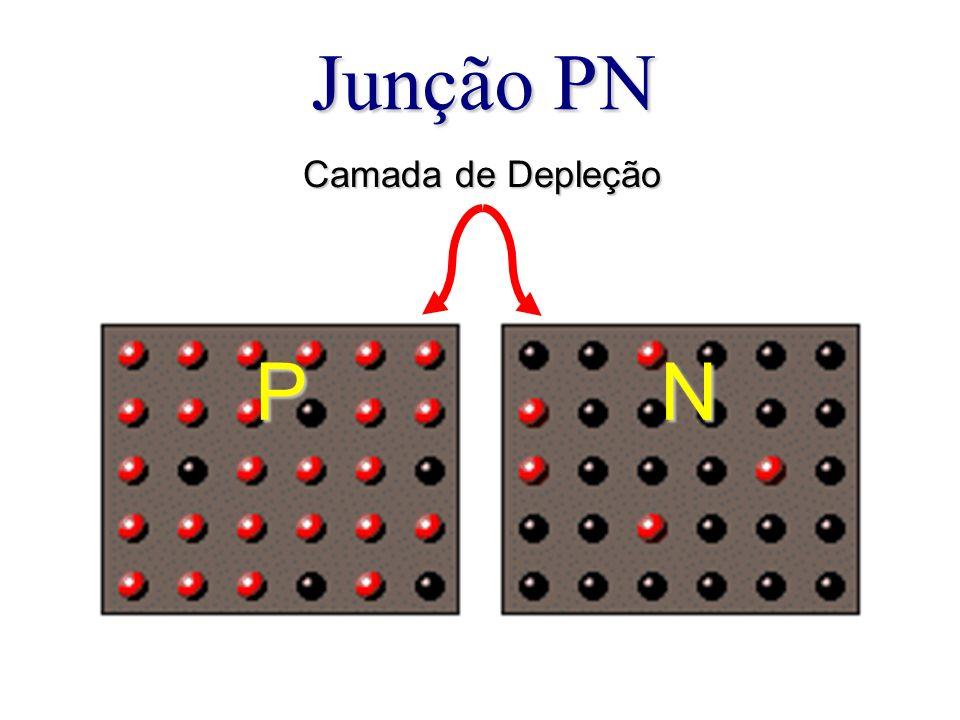 Junção PN PN Camada de Depleção