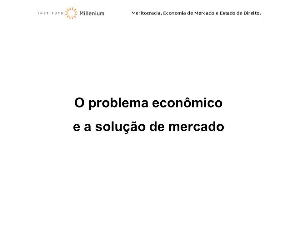 O problema econômico e a solução de mercado